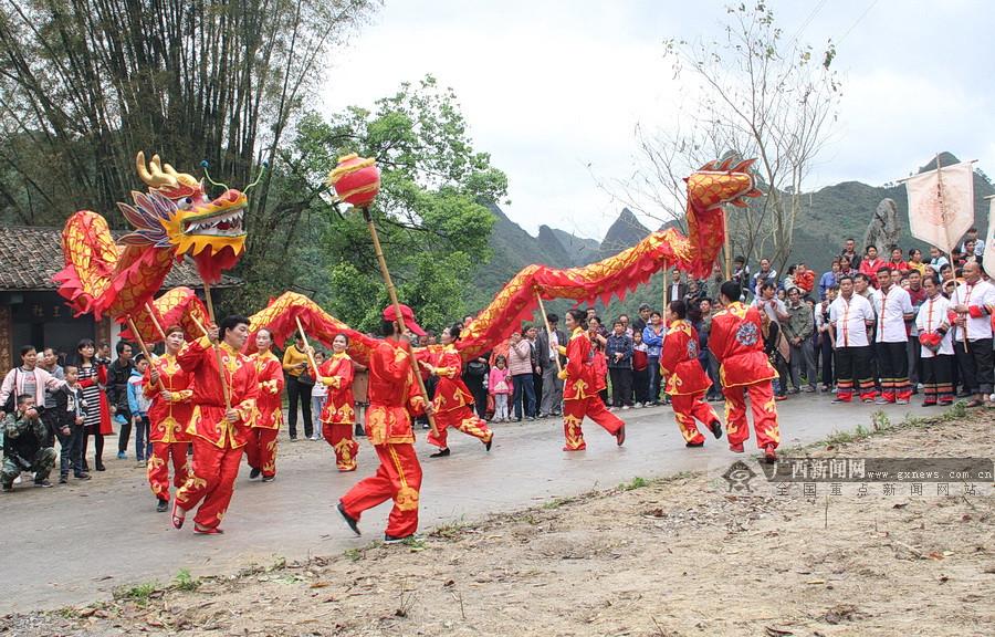 高清组图:2018银河注册·下洛扁担文化旅游节开幕