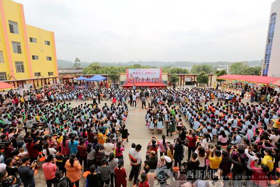 """南宁良庆区南晓镇""""壮族三月三""""民风文明运动开启"""