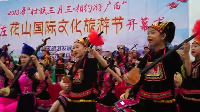 崇左――天琴山歌表演