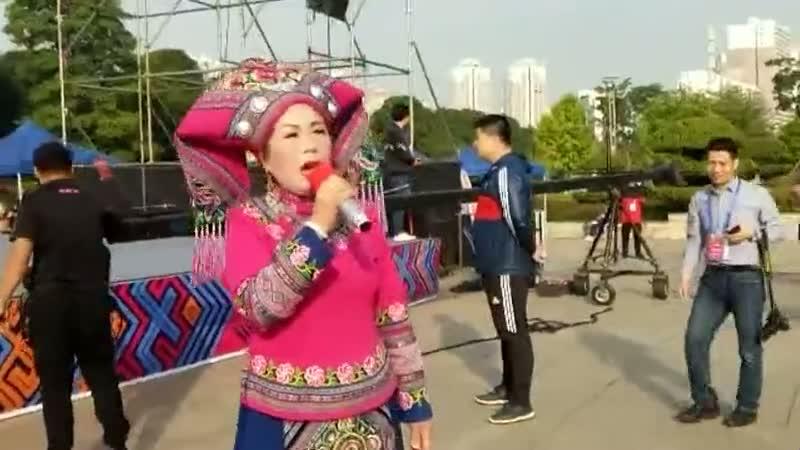 来宾――山歌表演