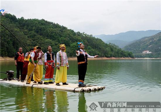 """北流市桃冲村""""壮族三月三""""文艺活动精彩纷呈"""