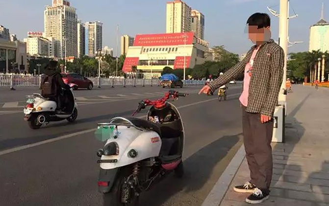 22日焦点图:少年深夜飙车 网上直播炫耀