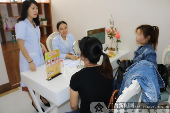 坐落于市中心繁华商圈 南宁广丽医疗美容盛大开业