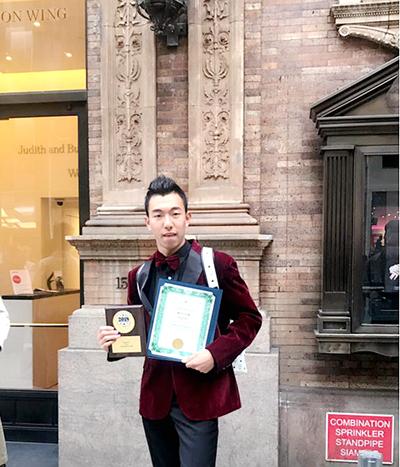 廣西歌唱家吳柏成國際比賽奪冠