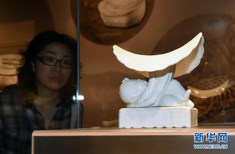 (文化)(4)南京举办唐宋辽金元瓷枕展