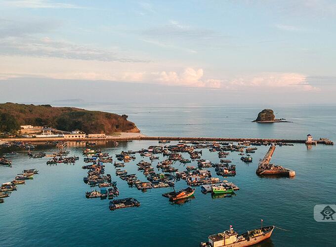 """航拍组图:""""海上蓬莱仙境""""——广西北海涠洲岛"""