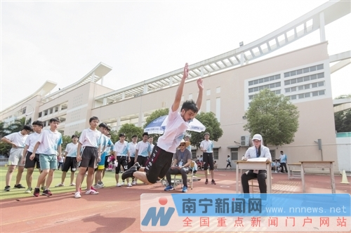 南宁体育中考5月7日开考 考试时间将持续至13日