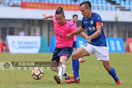 """2018广西""""美丽乡村""""乡镇农民足球赛打响 持续至9月"""