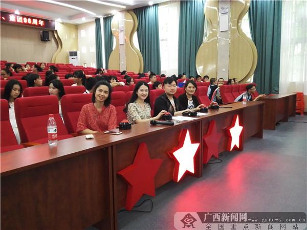 """青春正当时 南宁仙葫学校举行首届""""达人秀"""""""