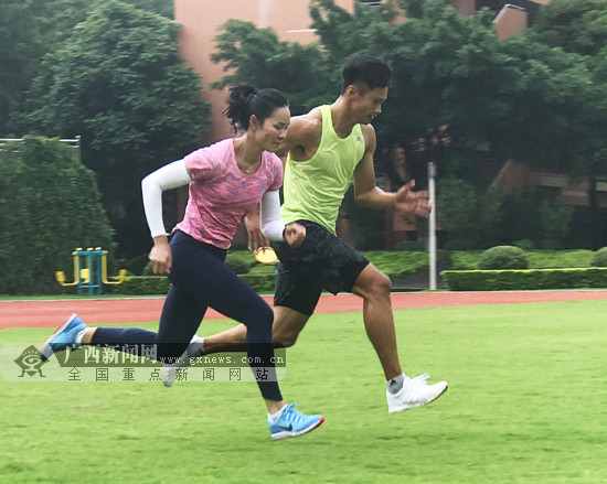 韦永丽随队赴深圳备战2018国际田联钻石联赛上海站