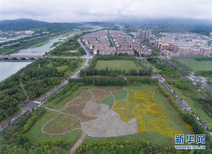 (环境)(5)北川新县城:生态羌城 幸福新生