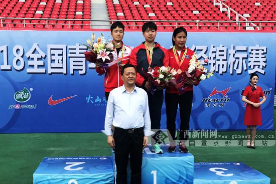 2018全国青年(U20)田径锦标赛落幕:广西队1金1铜