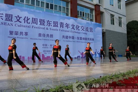 第九届东盟文化周在广西国际商务职业技术学院举办
