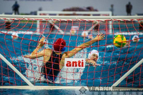 2018全国女子水球锦标赛梧州揭幕 福建35-2胜山西