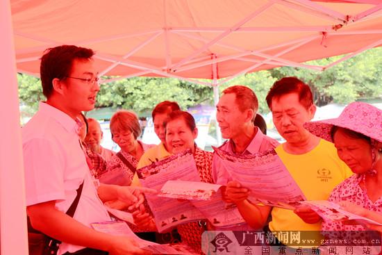 """南宁开展""""三电""""设施安全保护宣传月宣传活动"""