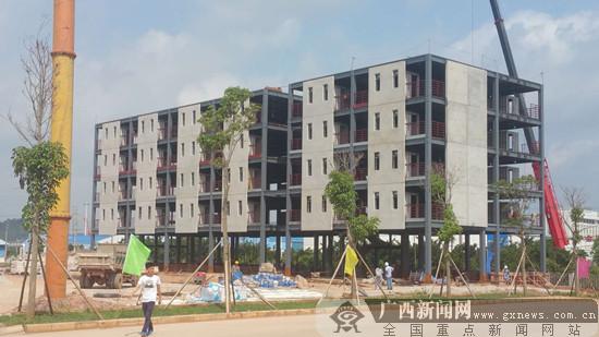 景典现代化装配式建筑产业基地项目竣工