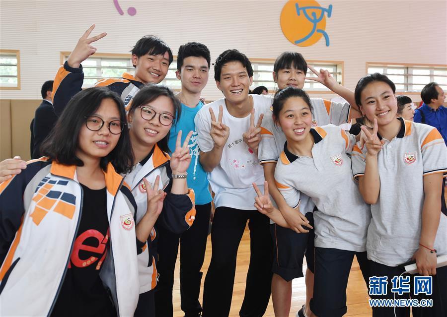 (社会)(2)中日学生手语友好交流活动在南京举行