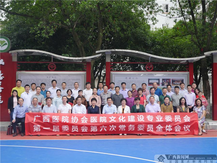 广西医院文化建设专业委员会第一届委员会第六次常务委员会议在桂召开