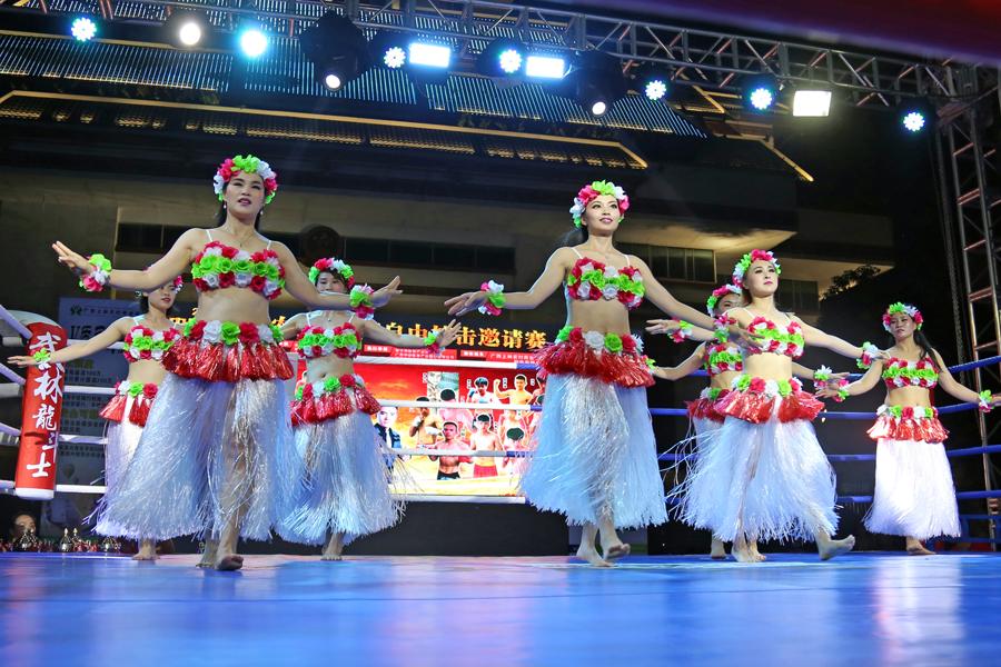 体育+旅游融合:2018上林生旅游养生节举行搏击赛