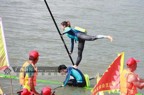 庆祝自治区成立60周年・广西龙舟系列赛首站开赛