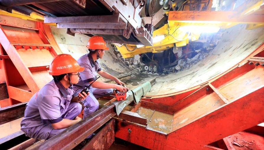 焦点图:南宁地铁2号线东延线开建 共5座站