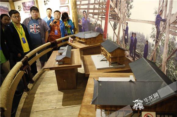 全国百家重点网媒记者走进黔江千年十三寨 感受醉美土家风情
