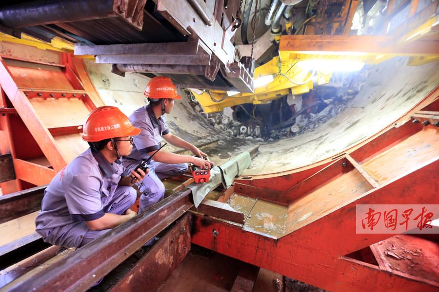 5月24日焦点图:南宁地铁2号线东延线开建 共5座站
