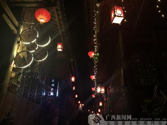 重庆网络行:游龚滩古镇 醉乌江画廊