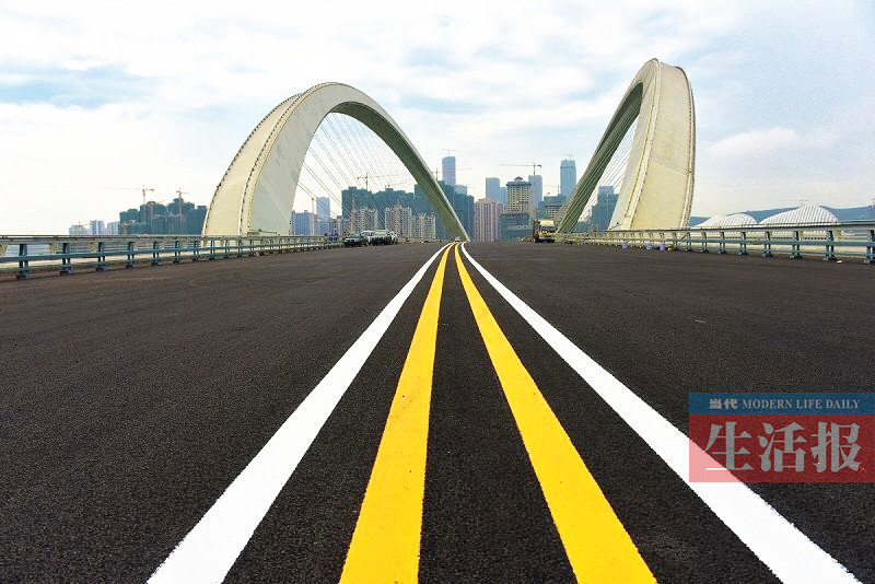 南宁大桥维修工程提前完成 于31日晚10时恢复通车