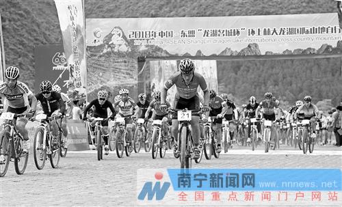 上林:打造自行车运动新乐园