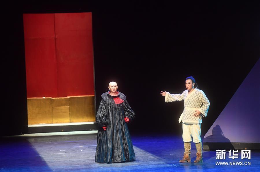 (文化)(6)中央歌剧院演出莫扎特歌剧《魔笛》