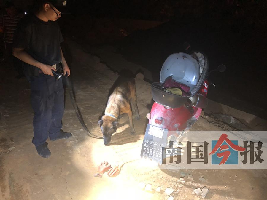 男子出租房里夺妻命后服毒自杀 警犬发现疑凶尸体