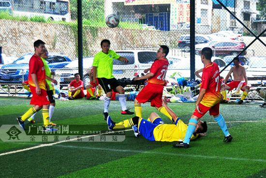 实行分组升降级制 2018年梧州市足球联赛鸣哨开赛