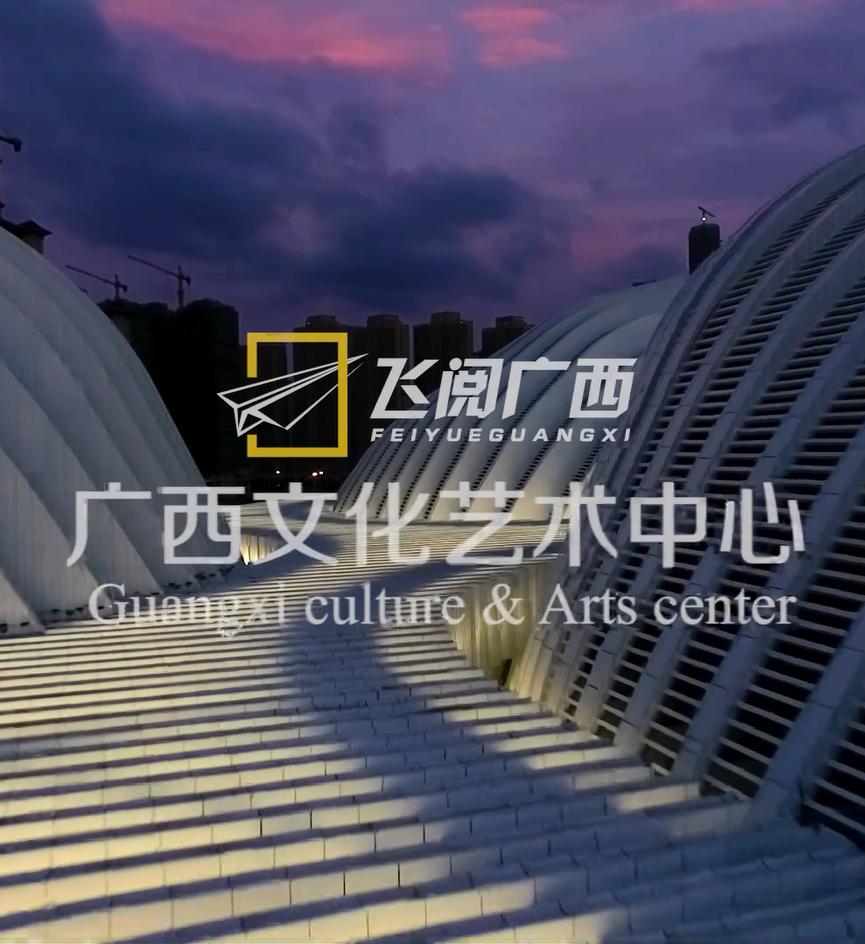 飞阅广西——广西文化艺术中心