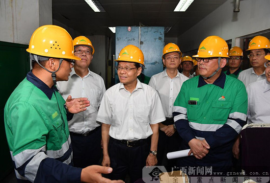 陈武到防城港市调研并主持召开重大项目建设工作推进会