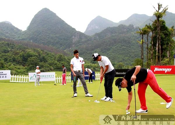 2018美巡系列赛中国第五站锦标赛在桂林开杆