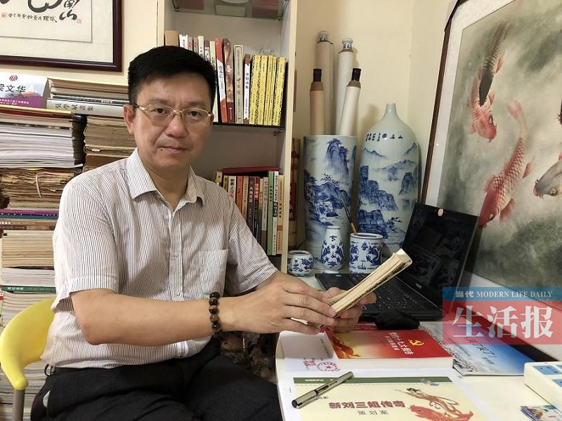 客串死尸迷上拍戏 草根大叔27年追逐影视梦(组图)