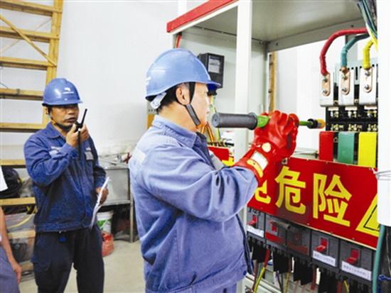 大化供电局开展应急演练 护航高考用电