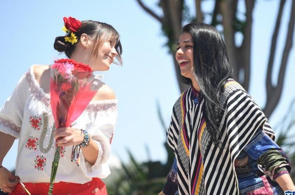 圣马特奥成人教育学校举办国际日活动