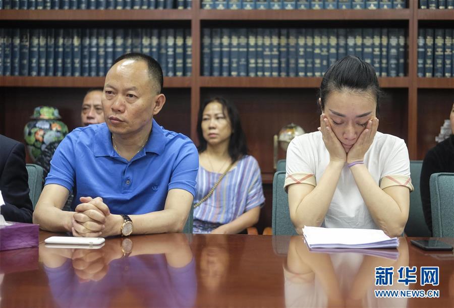 (国际)(2)遭枪杀中国女留学生江�h家人抗议美检方不公