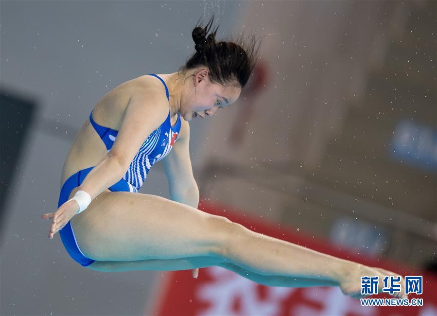 (体育)(10)跳水――世界杯:女子十米跳台赛况