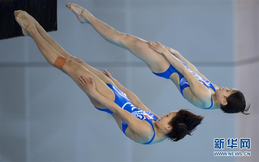 (体育)(6)跳水――世界杯:女子双人十米跳台赛况
