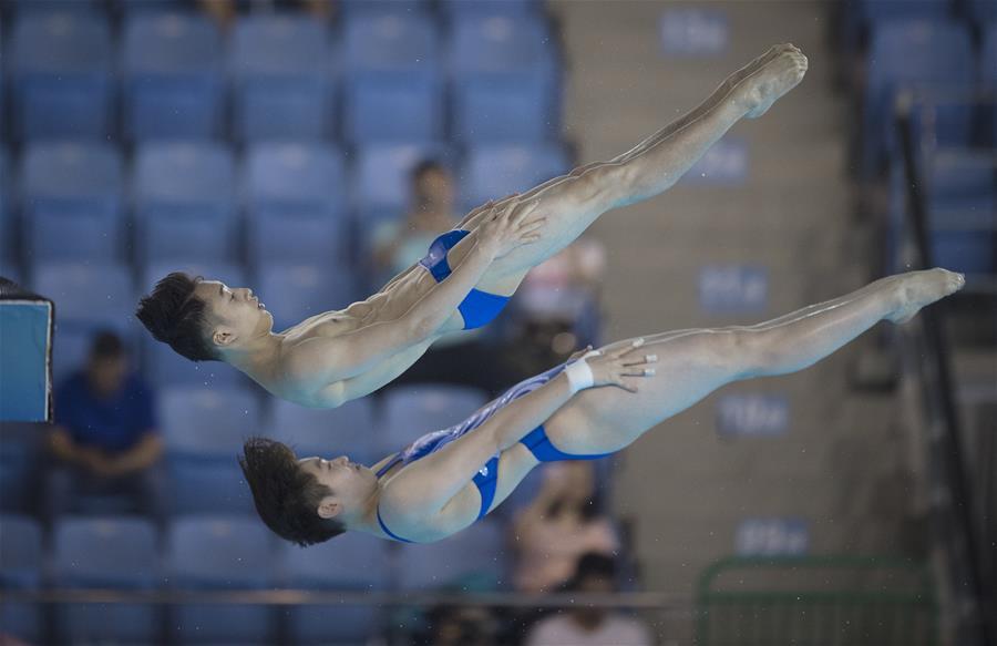 (体育)(2)跳水――世界杯:混合双人10米台赛况