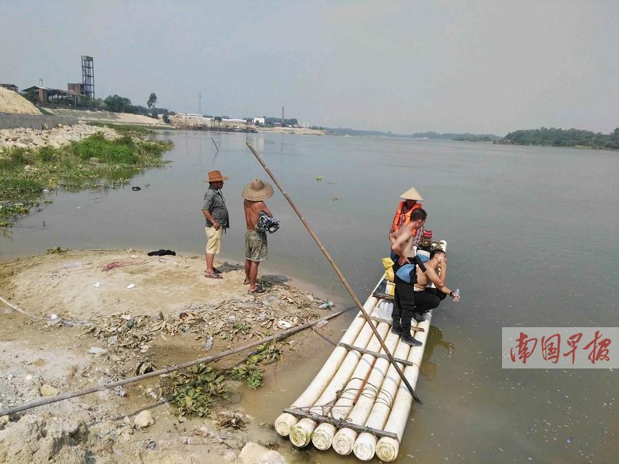 六学生结伴玩水三人溺亡 事发合浦南流江常乐段