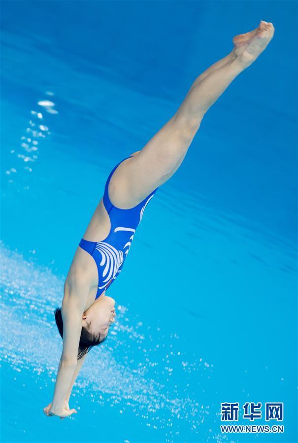 (体育)(6)跳水――世界杯:女子十米跳台赛况