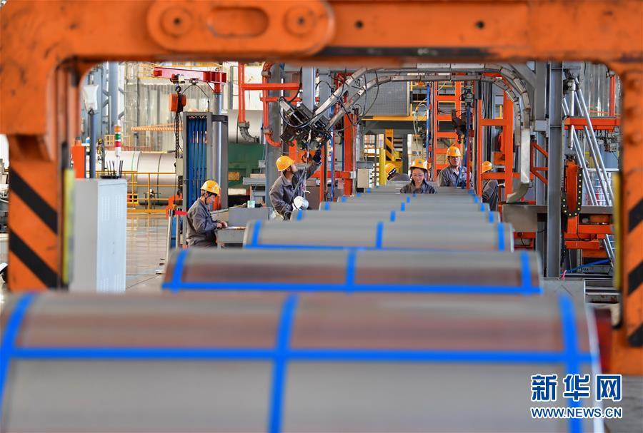 (经济)(7)河北唐山打造生态型沿海工业城市