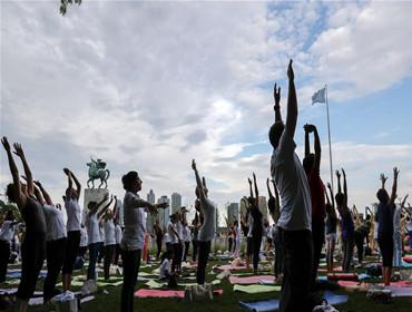 联合国总部:国际瑜伽日