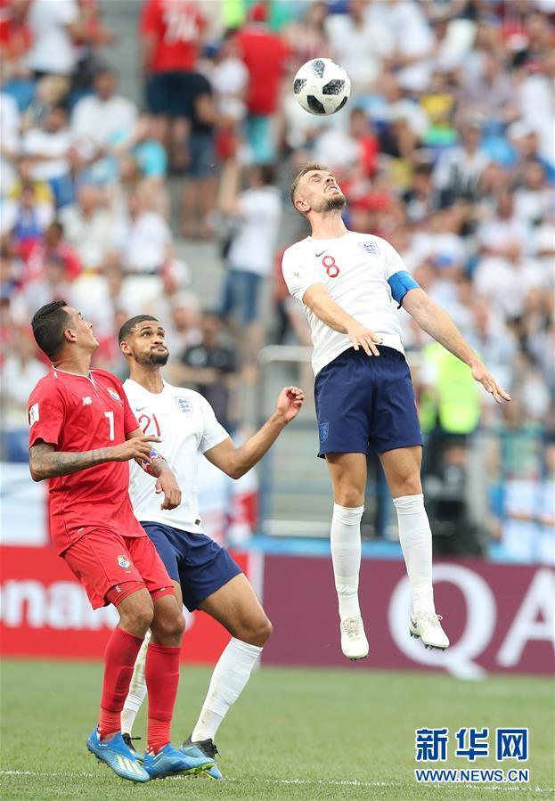 (世界杯)(4)足球――G组:英格兰队胜巴拿马队
