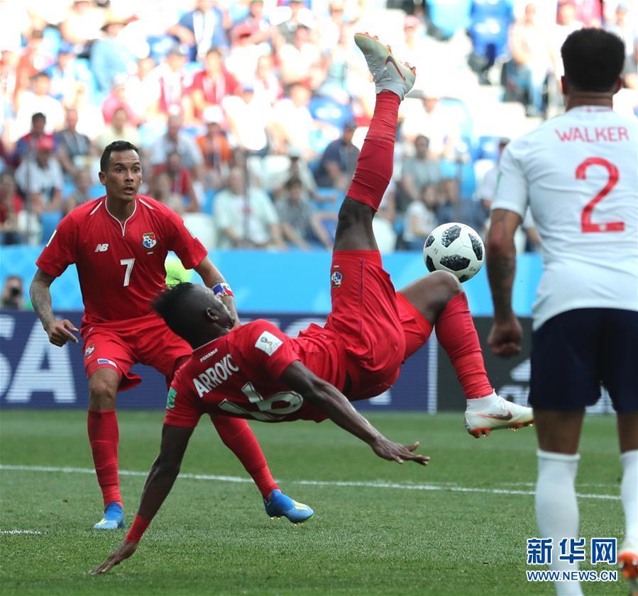 (世界杯)(12)足球――G组:英格兰队胜巴拿马队