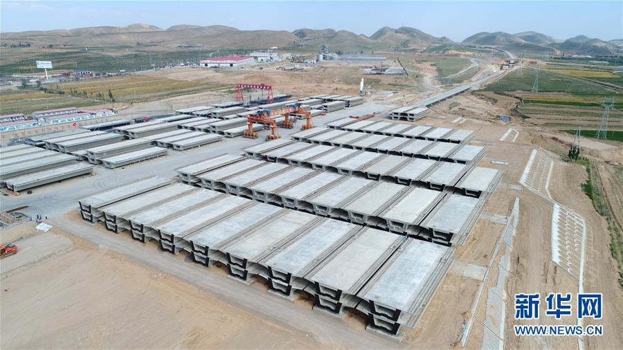 (经济)(5)银西高铁甘宁段建设稳步推进